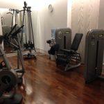 Fitnessraum Hotel Bristol