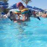 Badespaß mit Mama