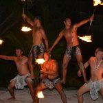 Tamanu Beach Firedance Show