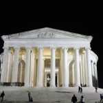 Jefferson Memorial by night