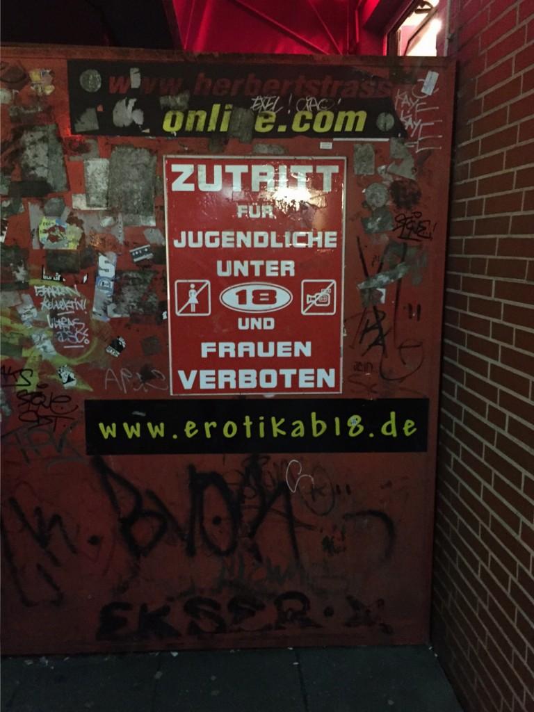Berüchtigte Herbertstraße