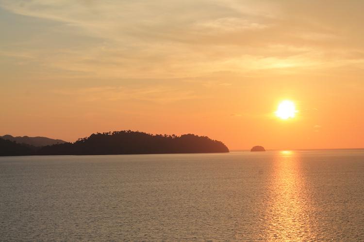 Sonnenaufgang Malaysia
