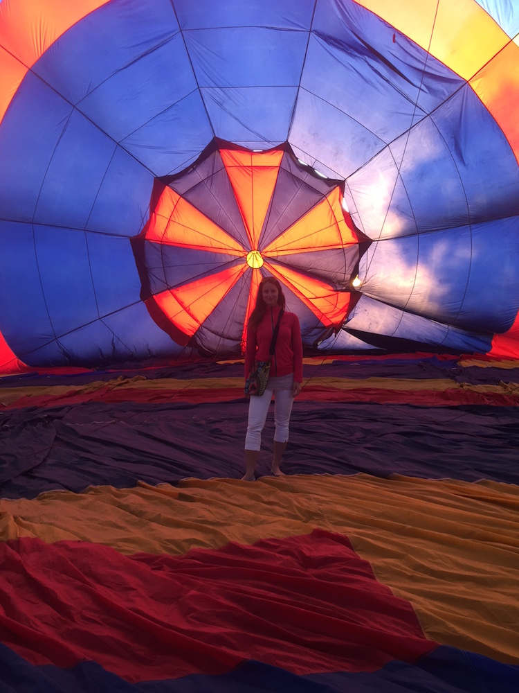 Hotairballon inside