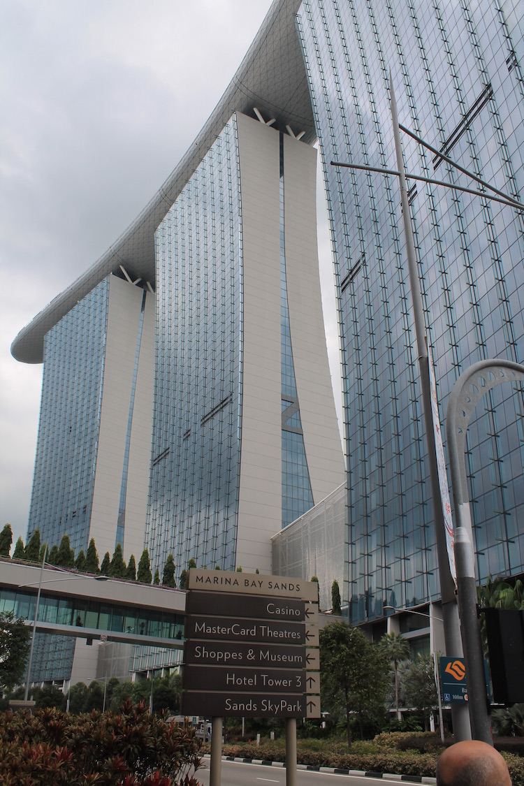 Marina Sands Bay Hotel in Singapur