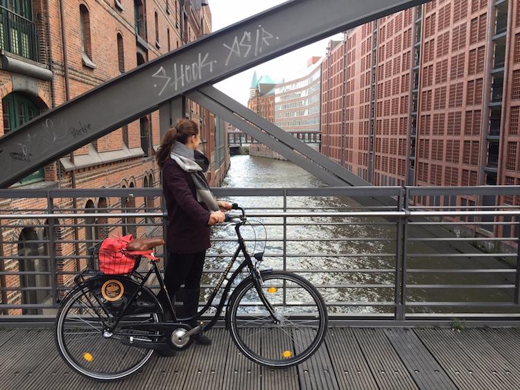 Radtour durch Hamburg