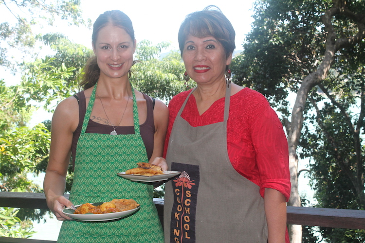 Silvia und Rohana Cooking School Penang