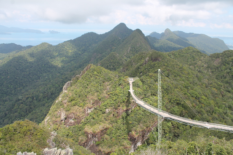 Aussicht Langkawi (Skybridge)