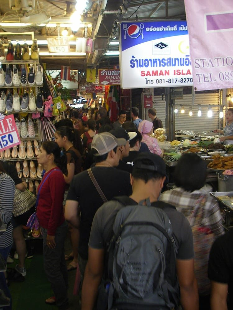 Chatuchak Markt in Bangkok