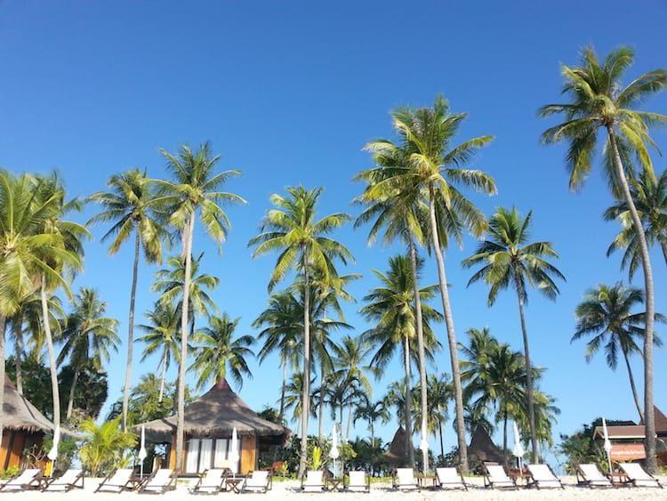 Luxusstrand beim Sivalai-Beach Resort