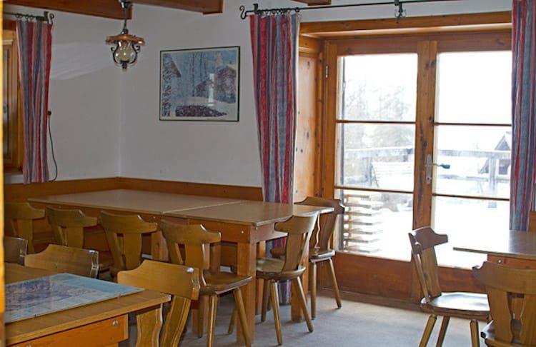 Berghof - Aufenthaltsraum