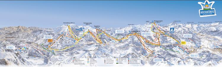 Skigebiet Hochkönig Ski Amadé