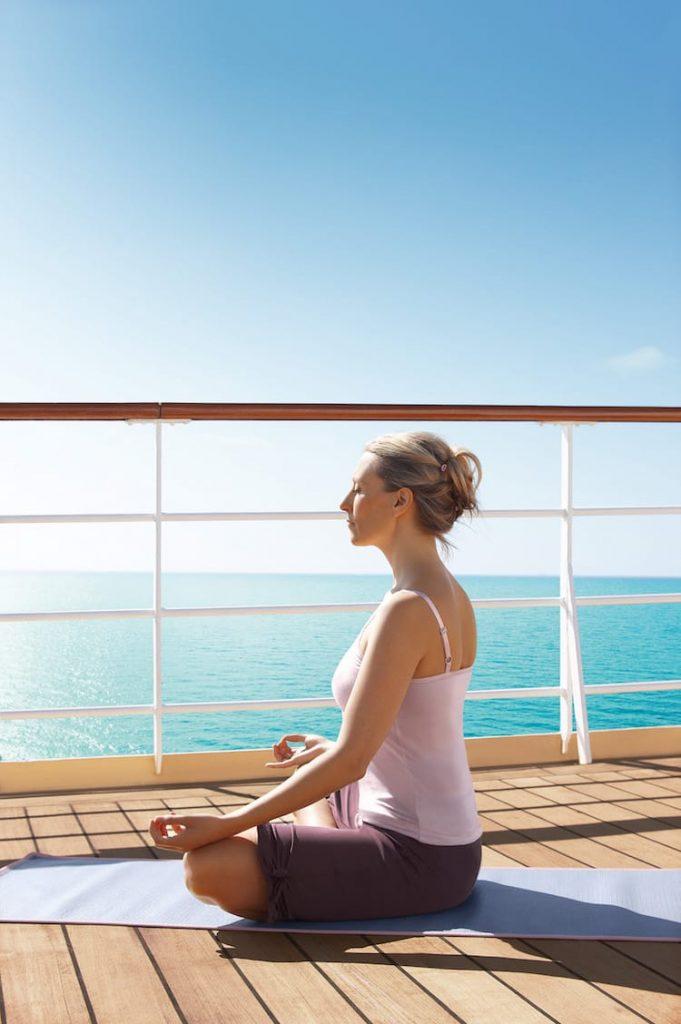 Yoga an Bord der Mein Schiff 4
