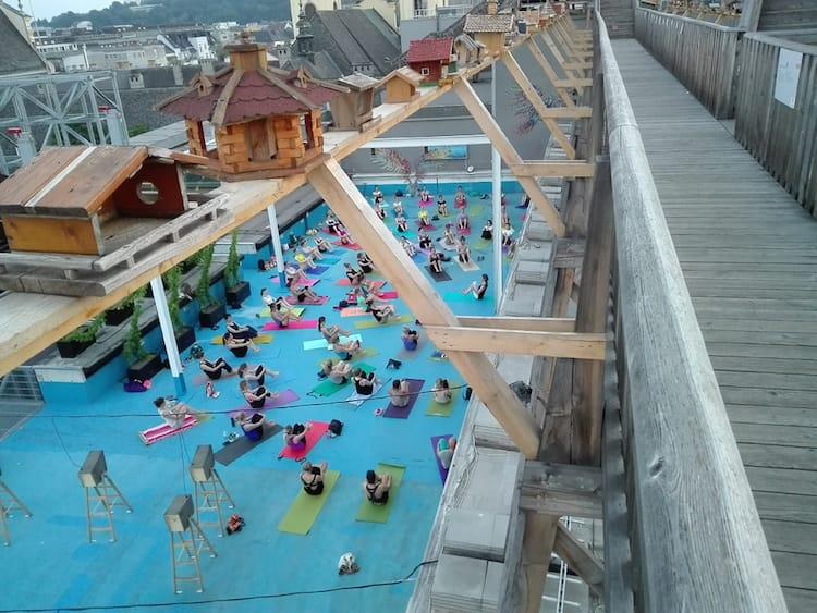 yogalounge Special Event beim Höhenrausch in Linz
