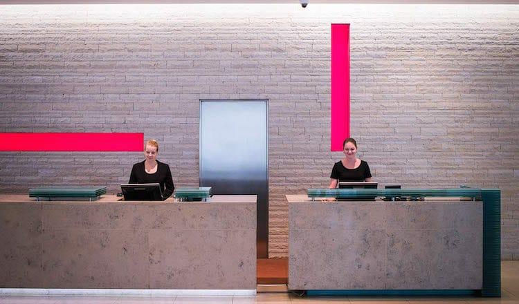 Lobby im Hotel Andel's Prag (copyright by Vienna House)