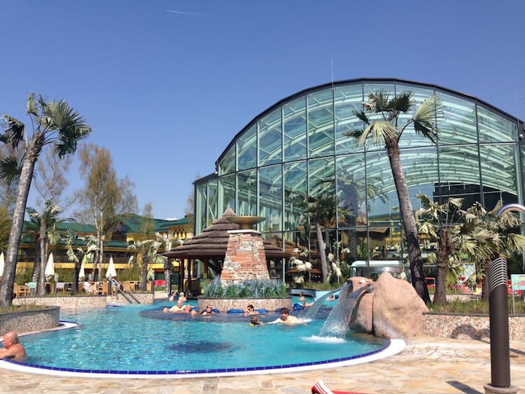 Cabrio Therme Tropicana in der Eurotherme Bad Schallerbach