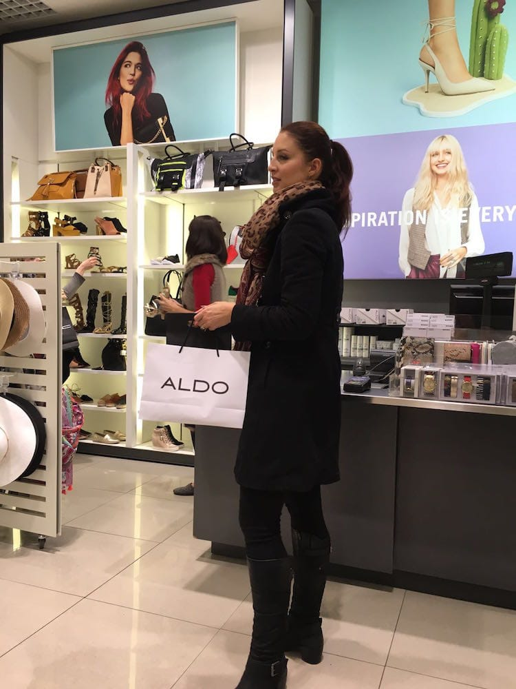 """""""Blöderweise"""" ist das Einkaufszentrum Novy Smichov gleich neben dem Hotel und hat auch sonntags geöffnet..."""