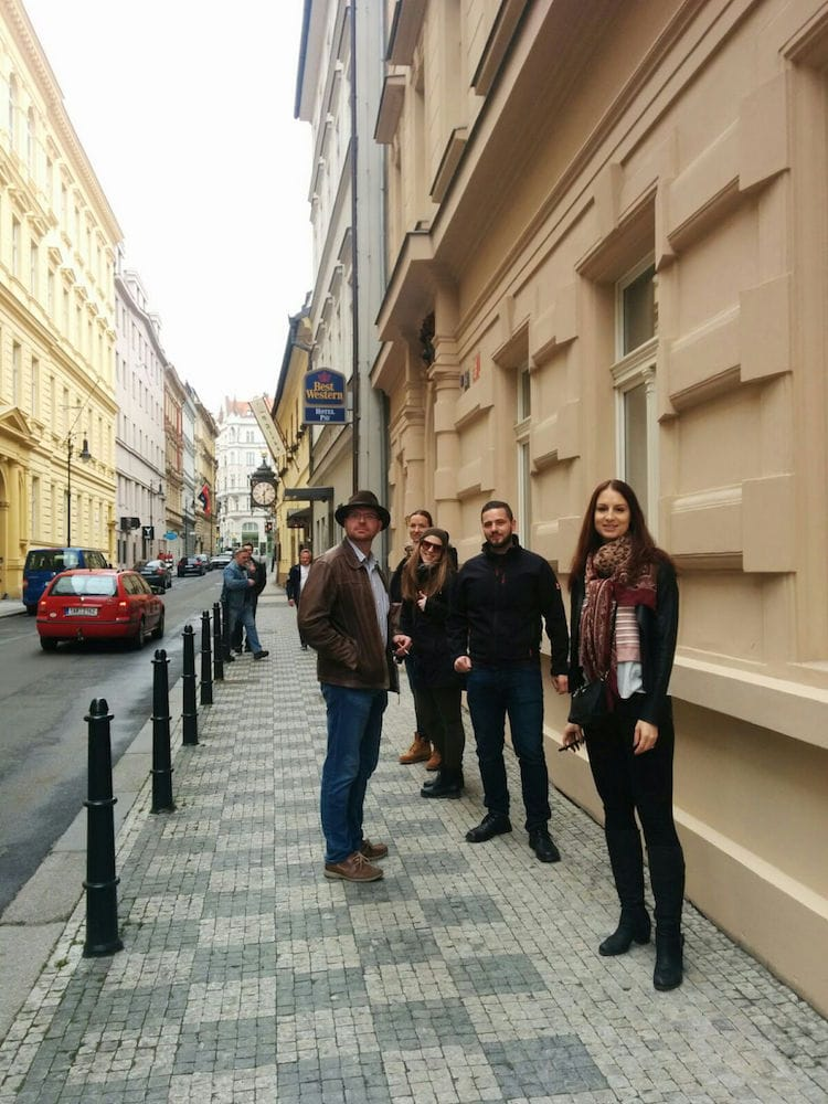 Stadtspaziergang in Prag