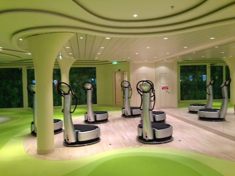 Gym auf der AIDAprima