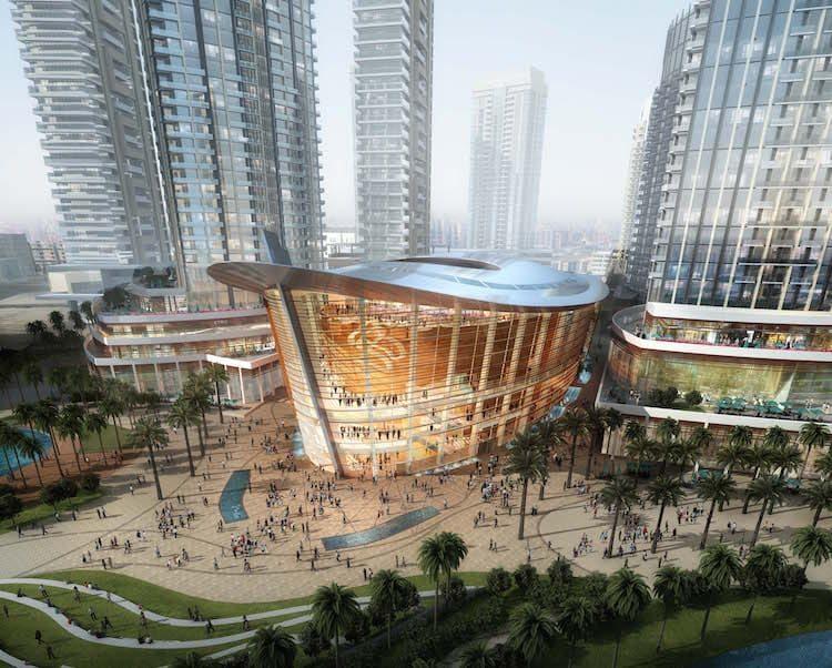 Dubai Opera by Emaar, copyright Emaar properties