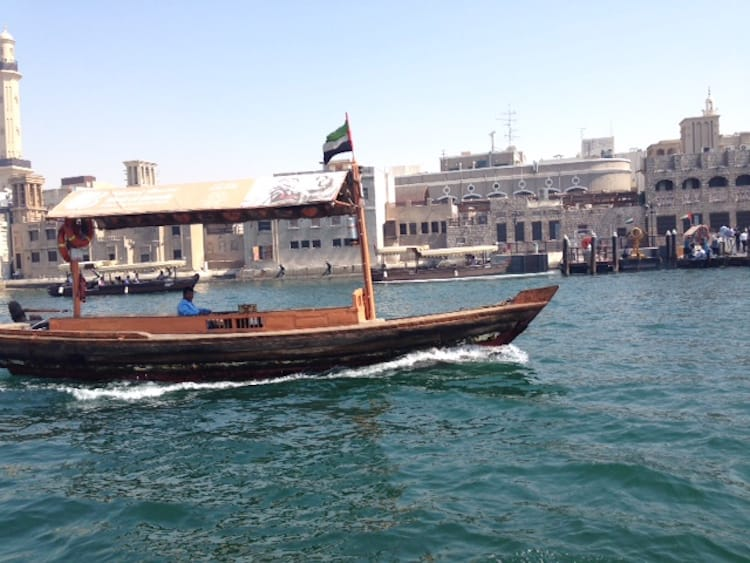 Dhowfahrt am Dubai Creek