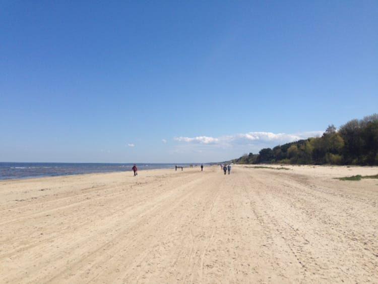 Der Strand von Jurmala