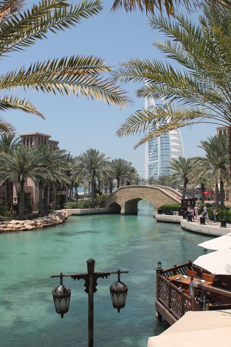 Blick auf Burj Al Arab