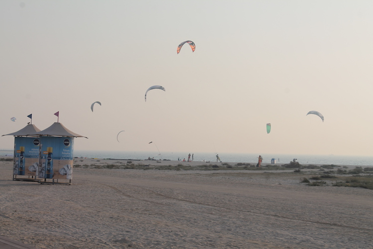 Kite Beach in Dubai