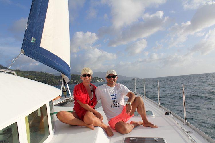 On Tour - Birgit und ihr Mann Reinhart