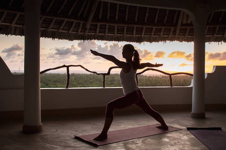 Sunset Yoga im Watamu Treehouse in Kenia #kamah