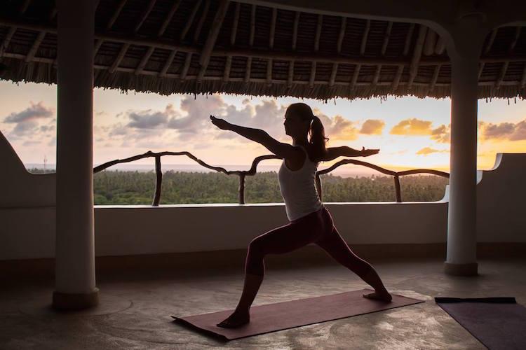 Sunset Yoga im Watamu Treehouse in Kenia #kamah