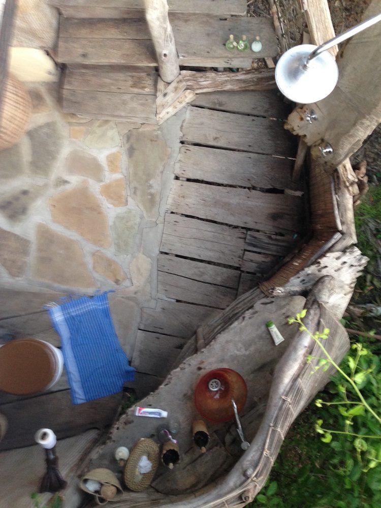 Mein Badezimmer von oben