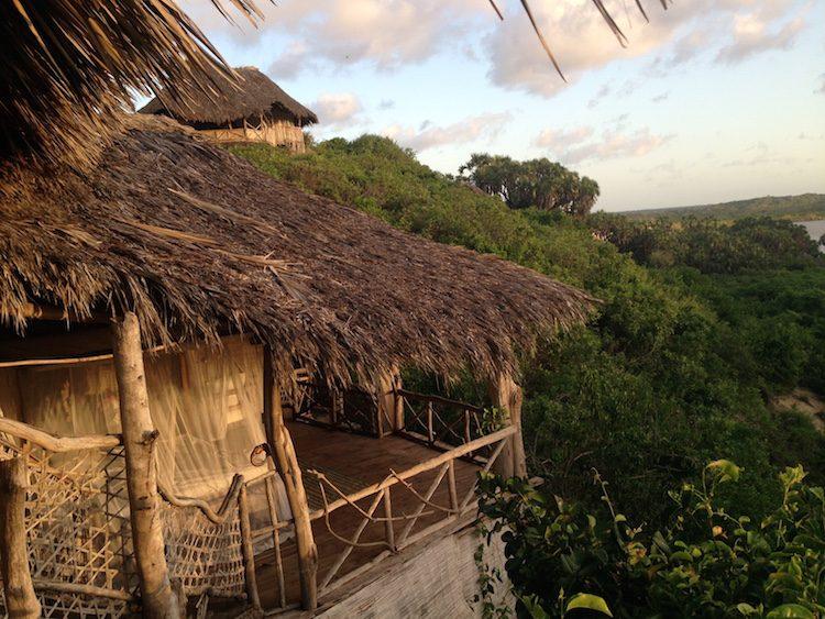 Eines der 8 Baumhäuser in der Delta Dunes Lodge