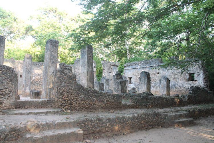 Die Ruinen von Gede