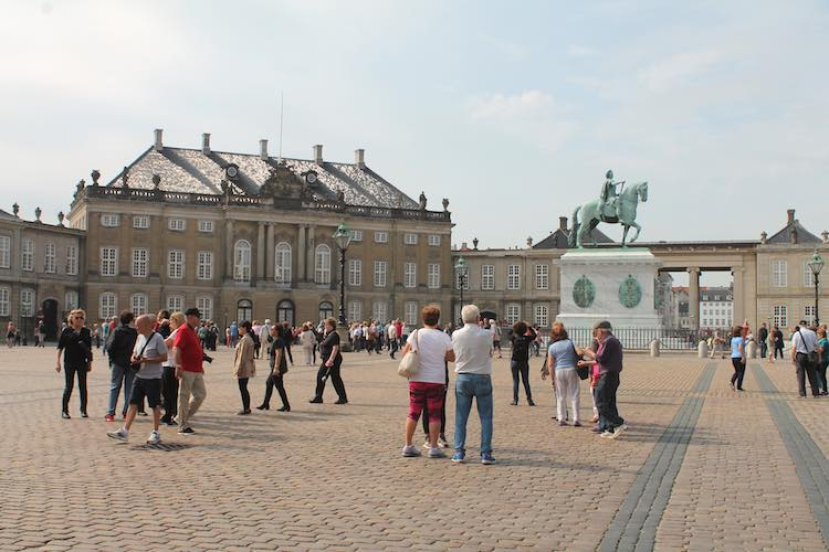 Der Platz vor Amalienborg