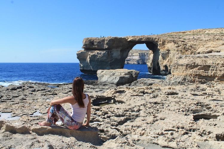 Azzure Window auf Gozo
