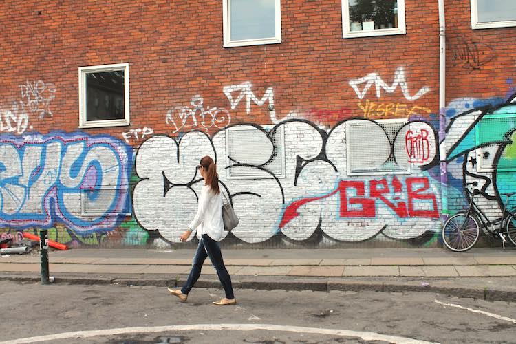 Straßenkunst Christianshavn