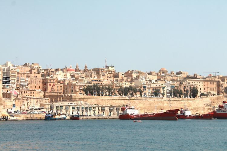 Der Hafen von Malta
