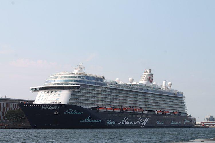 Die Mein Schiff 4 in Kopenhagen