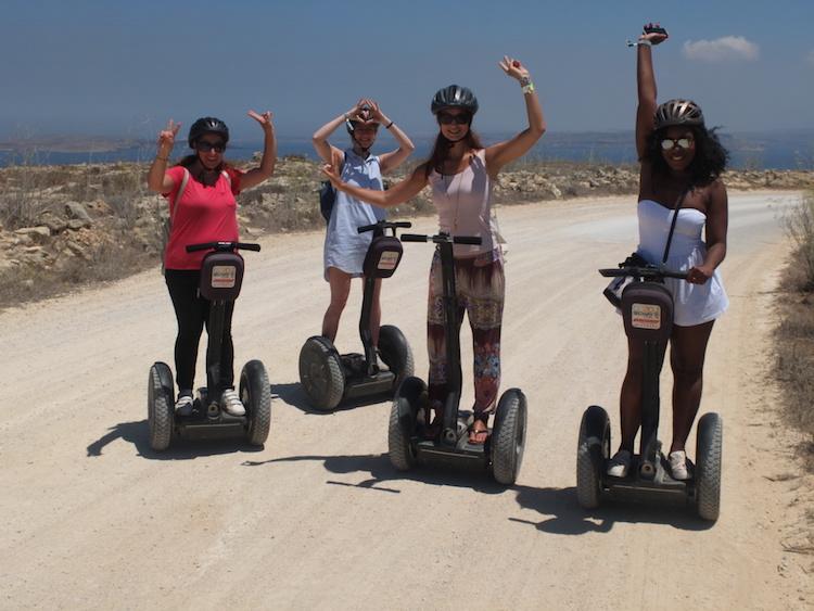 Segwaytour auf Gozo