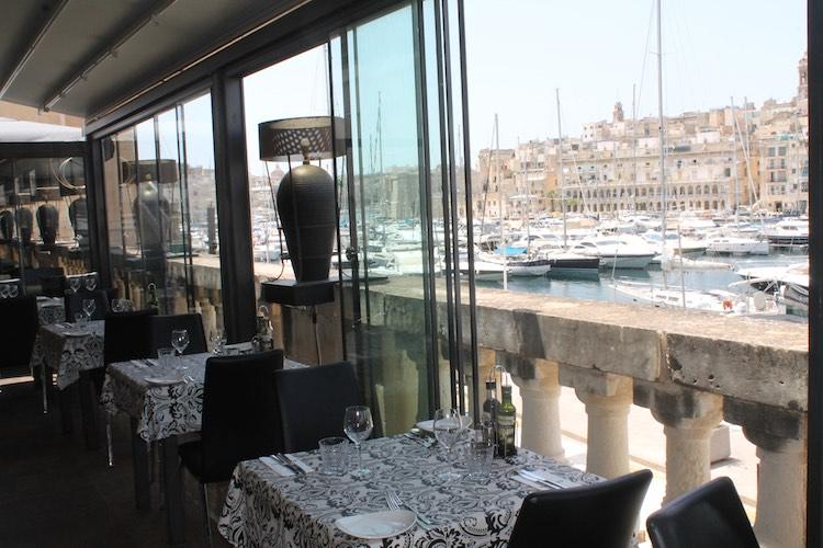 Restaurant Don Berto an der Vittoriosa Waterfront
