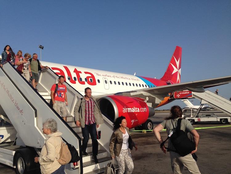 Mit Air Malta auf die Sonneninsel