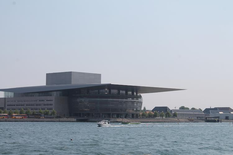 Die Oper im Hafen von Kopenhagen
