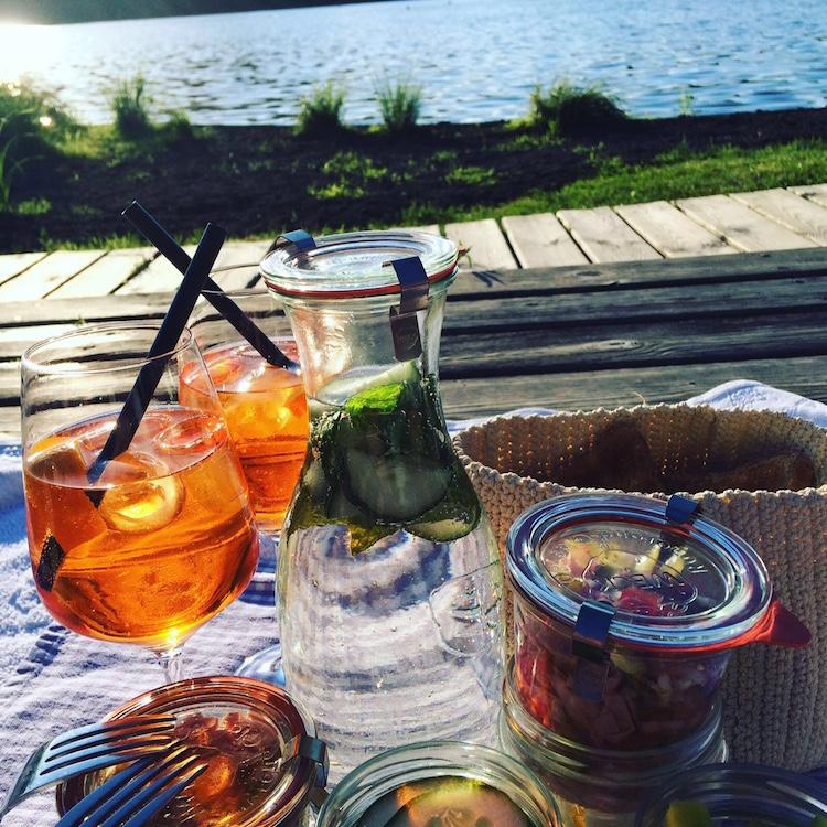 Picknick am Schwarzsee