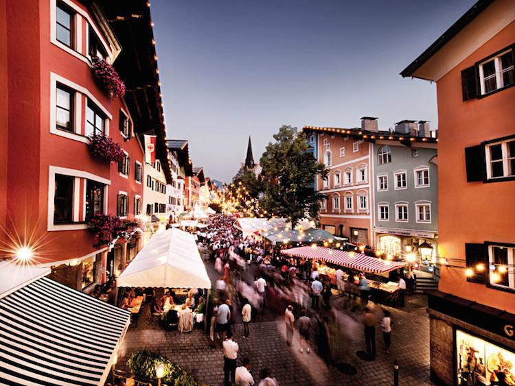 Jahrmarkt in Kitzbühel (c) Stadtmusik Kitzbühel