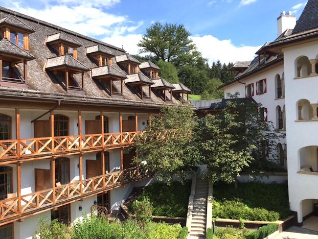 Innenhof im A-ROSA Kitzbühel