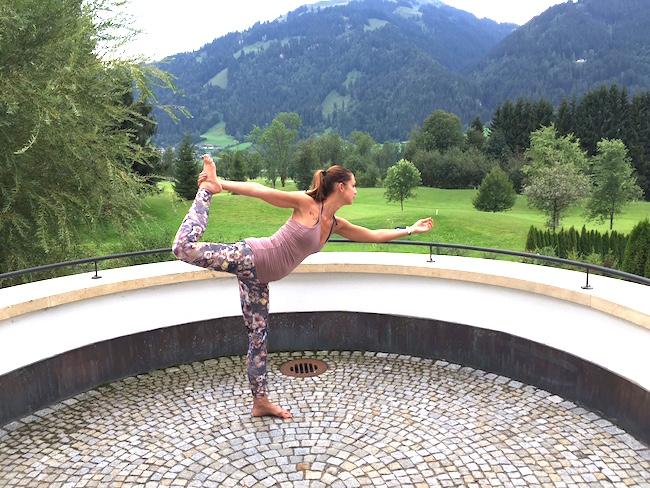 der Taenzer arosa Kitzbuehel yoga