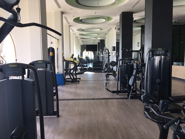 Fitnessstudio LAX in der New Marina
