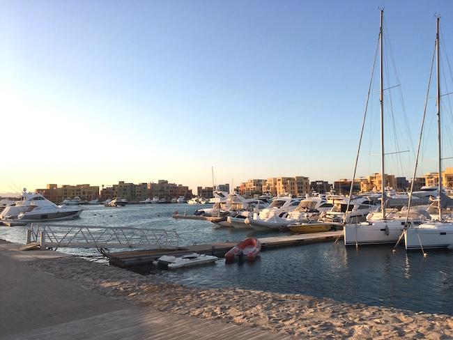 Marina in El Gouna