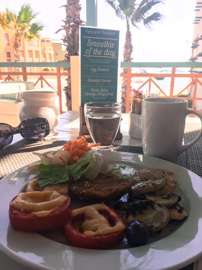 Hummus & Falafel zum Frühstück