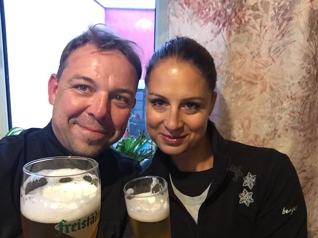 Das Bier ebenso :)